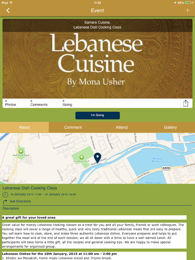 Samara Cuisine Ltd- screenshot