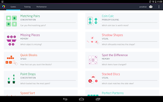Screenshot of Fit Brains Trainer