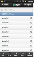 Screenshot of IIT JEE MAINS Mock Test