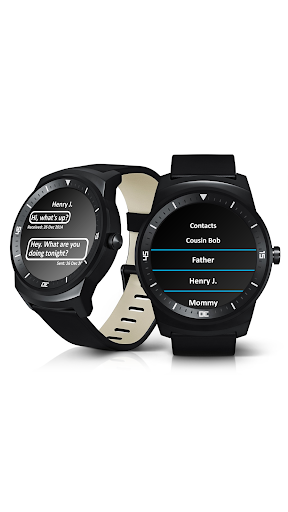 Smart Watch SMS klient