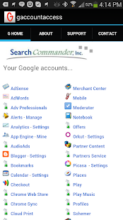Google Account Access - screenshot thumbnail