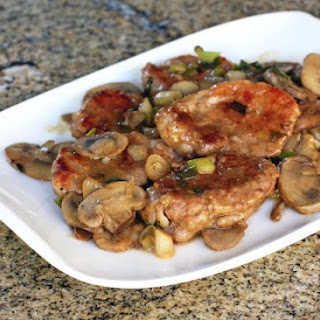Pork Tenderloin Medallions With a Simple Marsala Sauce