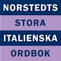 Norstedts stora italienska logo