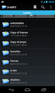 File Manager DroidFS screenshot 4