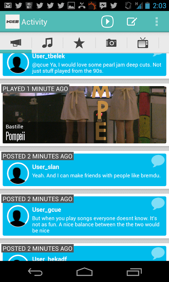 Indie88 - screenshot