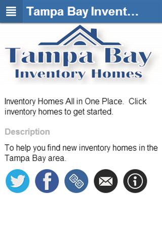 Tampa Bay Inventory Homes