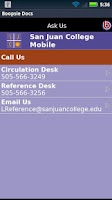 Screenshot of SJC Library