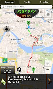 GPS Driving Route - screenshot thumbnail