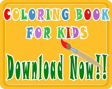 KIDS COLORING BOOK : PONY