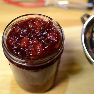 Pear Cranberry Jam