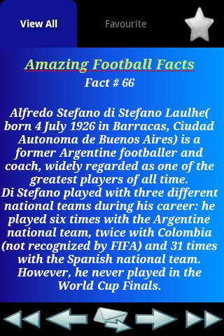 Amazing Football Facts