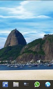 Rio Live Wallpaper Sugar Loaf- screenshot thumbnail