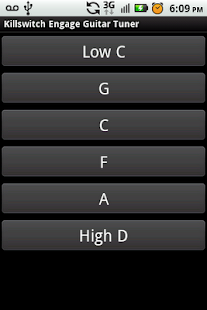 Killswitch Engage Guitar Tuner- screenshot thumbnail