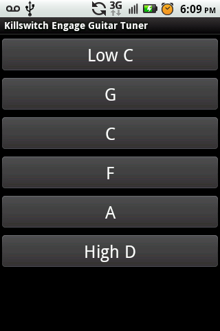 Killswitch Engage Guitar Tuner - screenshot