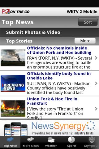 WKTV NewsChannel 2 - screenshot