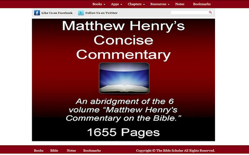 Matthew Henry Commentary ULTRA