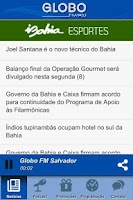 Screenshot of Globo FM Salvador