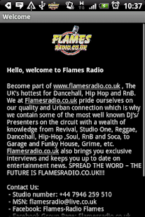 Flames Radio- screenshot thumbnail