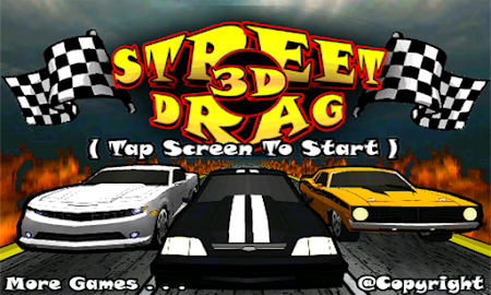 Street Drag 3D : Racing cars Screenshot 11