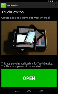 TouchDevelop - screenshot thumbnail