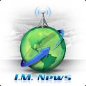 I.M. News by Chris Lang logo