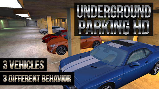 地下駐車場のHD