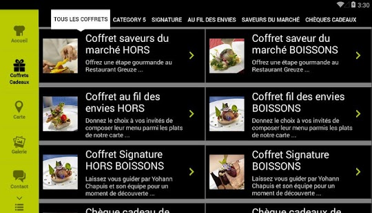 Restaurant Greuze- screenshot thumbnail