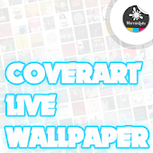 Cover Art Live Wallpaper Lite
