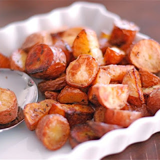 Roasted Rosemary Fingerling Potatoes.