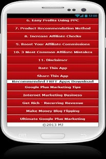 Get Rich - Affiliate Marketing - screenshot thumbnail