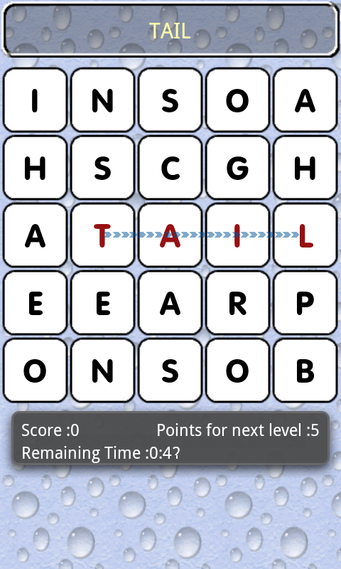 Word Prospector - screenshot