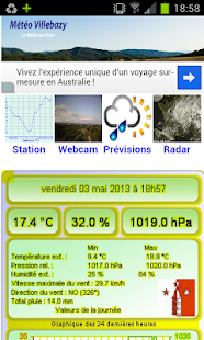 Météo Villebazy- screenshot thumbnail