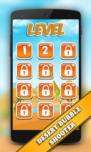 Desert Bubble ShootUp Free 1.0 screenshots 2