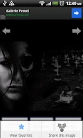 Screenshot of Horror Wallpapers