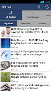 SNL Financial News - screenshot thumbnail