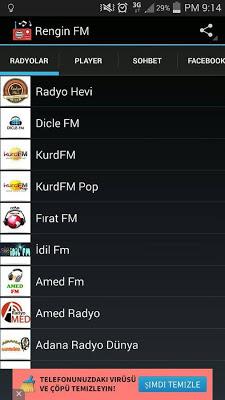 Kürtçe Radyolar - screenshot