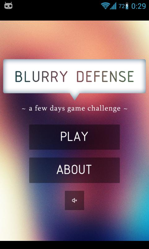 Blurry Defense - screenshot