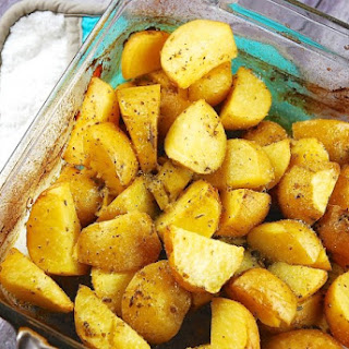 Greek Roasted Lemon Potatoes.