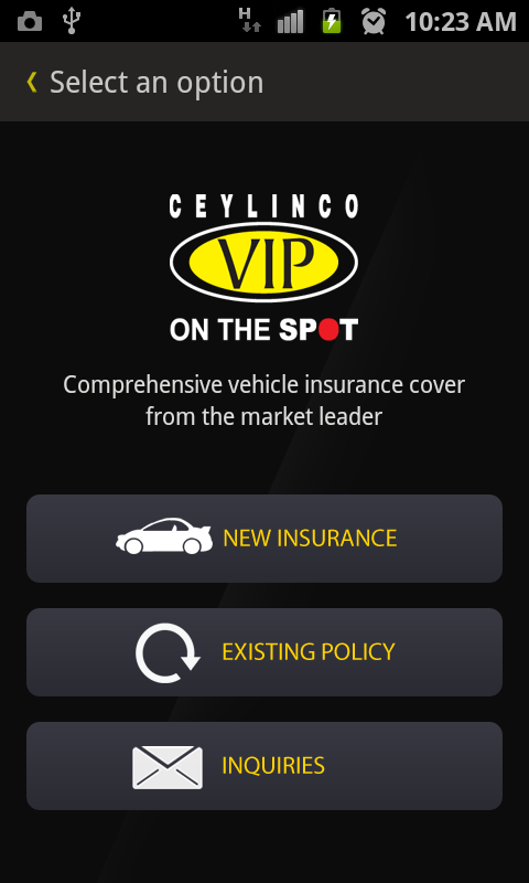 CEYLINCO VIP - screenshot
