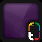 Purple Homescreen Theme
