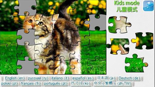 猫和小猫拼图