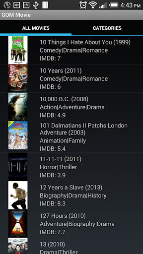 GOM Cinema Android