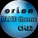 Orion Bleu CM12 Thème icon