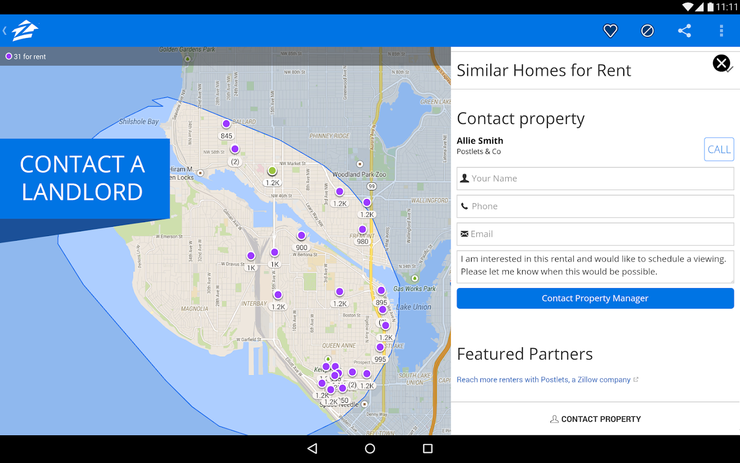 Zillow Rentals - Houses & Apts - screenshot