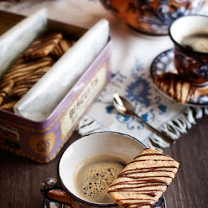 Coffee and Hazelnut Shortbread