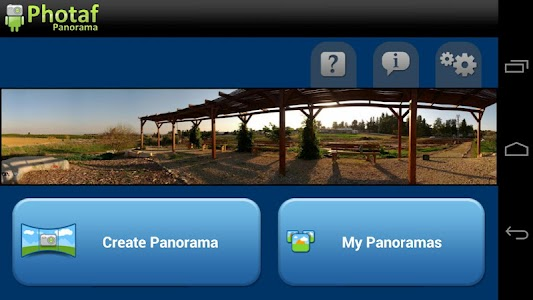 Photaf Panorama (Free) screenshot 0