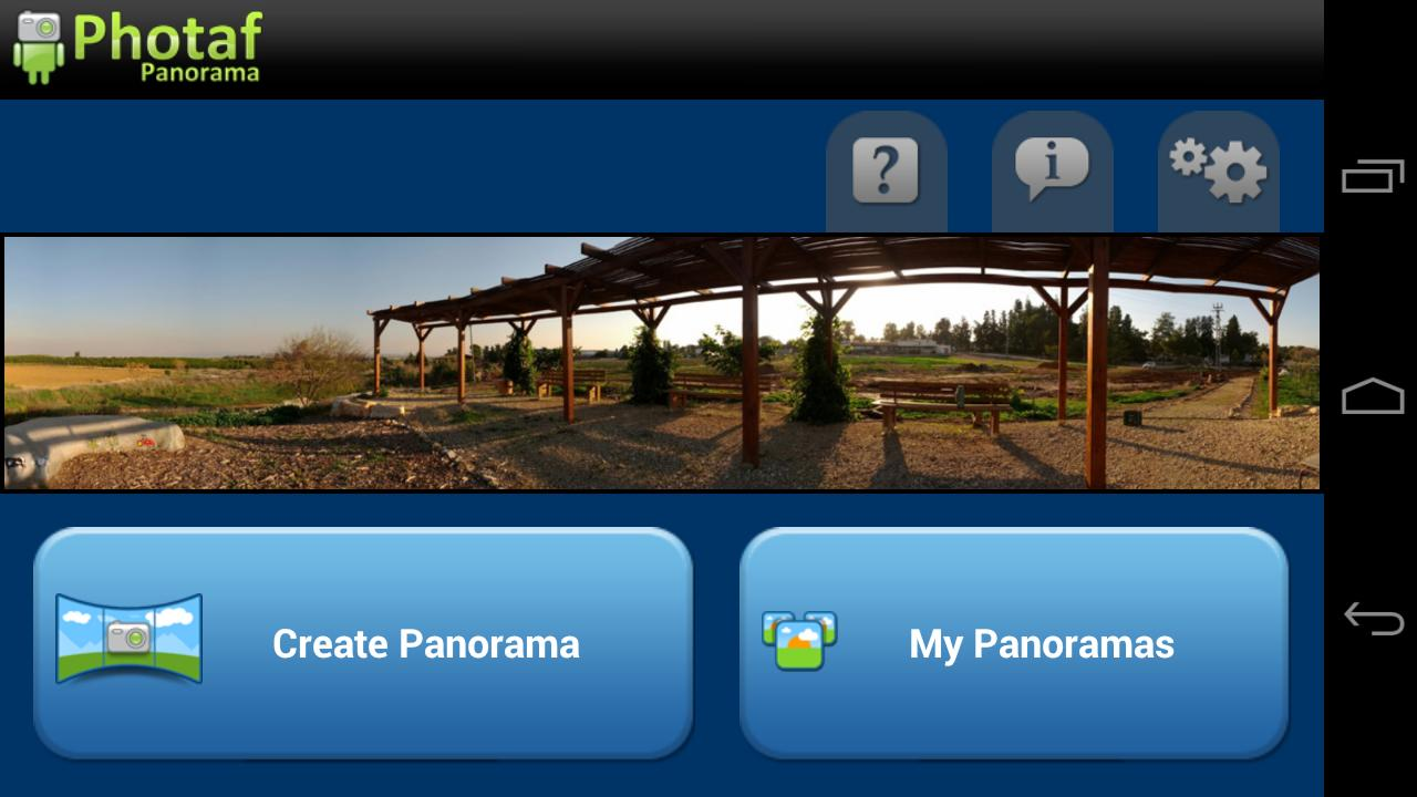 Photaf Panorama (Free) - screenshot