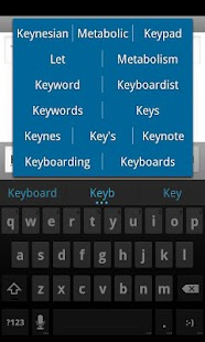 ICS Keyboard- screenshot thumbnail