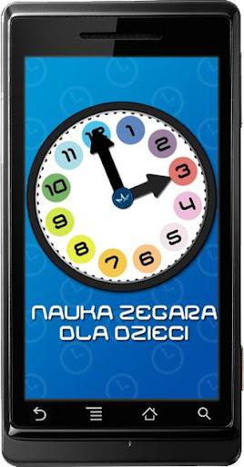 Nauka zegara dla dzieci
