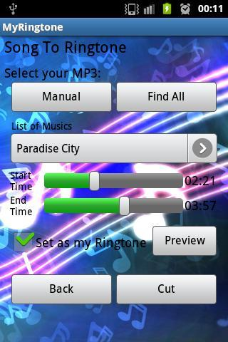 MyRingTone Pro - screenshot